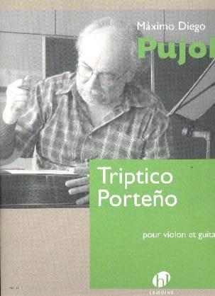 Triptico Porteno - Maximo Diego Pujol - Partition - laflutedepan.com