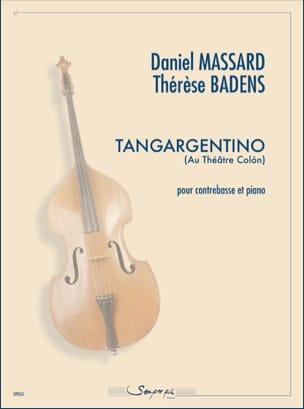 Tangargentino Daniel / Badens Thérèse Massard Partition laflutedepan