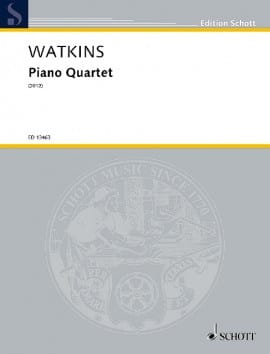 Huw Watkins - Quartet with Piano - Sheet Music - di-arezzo.co.uk