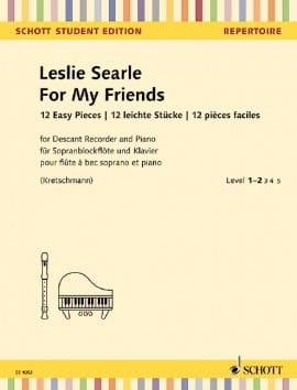 Leslie Searle - For My Friends - Sheet Music - di-arezzo.co.uk