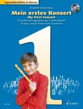Elisabeth Kretschmann - My First Concert - Vol. 1 - Sheet Music - di-arezzo.com