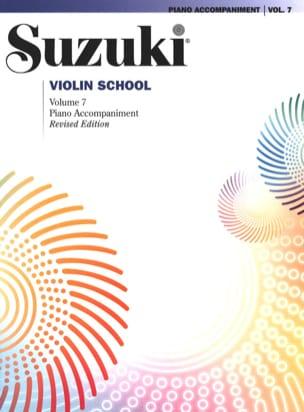 Violin School Vol. 7 SUZUKI Partition laflutedepan
