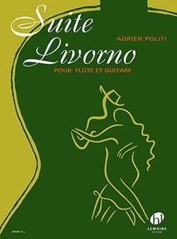 Suite Livorno - Adrien Politi - Partition - Duos - laflutedepan.com