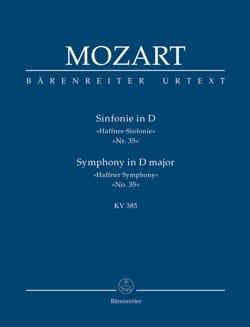 MOZART - Symphony Nr. 35 D-hard Haffner KV 385 - Partitur - Sheet Music - di-arezzo.co.uk