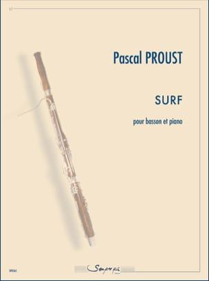 Surf Pascal Proust Partition Basson - laflutedepan