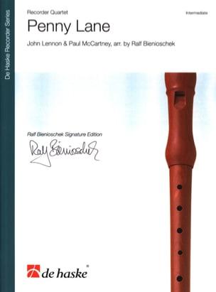 Penny Lane / McCartney Lennon Partition Flûte à bec - laflutedepan