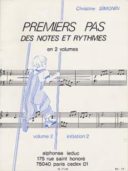 Premiers pas des notes et ryth. - Volume 2 laflutedepan