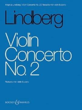 Concerto pour Violon n° 2 - Magnus Lindberg - laflutedepan.com
