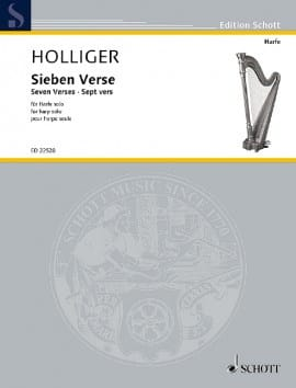 Heinz Holliger - Sieben Verse - Sheet Music - di-arezzo.co.uk