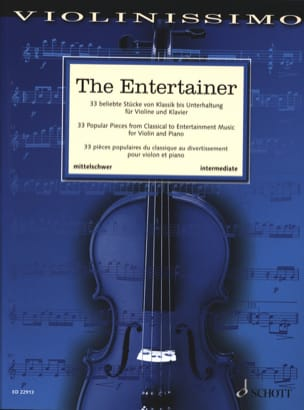 The Entertainer - Violin and Piano - Sheet Music - di-arezzo.com
