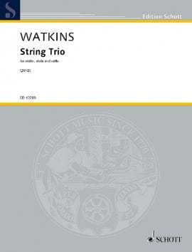 Trio à Cordes - Huw Watkins - Partition - Trios - laflutedepan.com