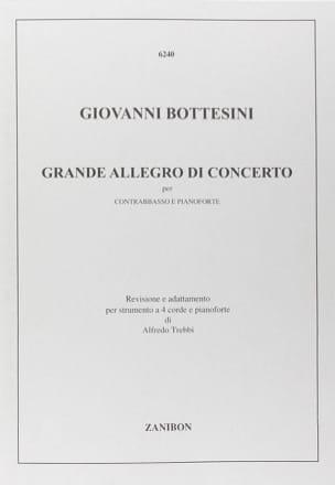 Grande Allegro di Concerto - Giovanni Bottesini - laflutedepan.com