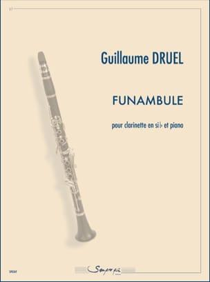 Funambule Guillaume Druel Partition Clarinette - laflutedepan