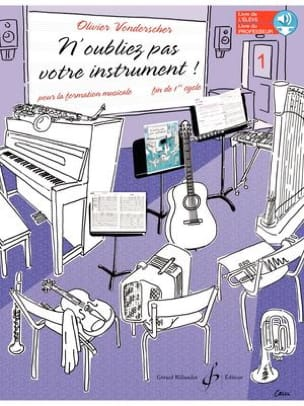 Olivier Vonderscher - Do not forget your instrument! - Flight. 1 - Sheet Music - di-arezzo.com