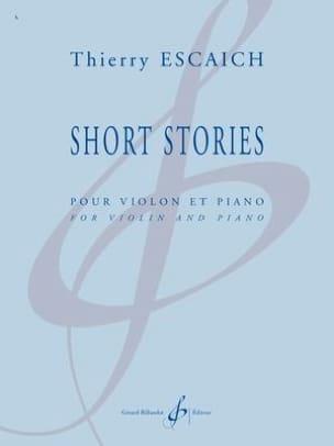 Thierry Escaich - Short Stories - Partition - di-arezzo.fr