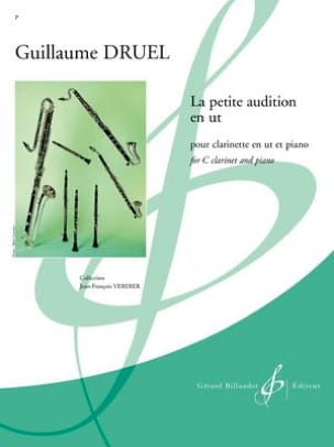 La petite audition en Ut Guillaume Druel Partition laflutedepan
