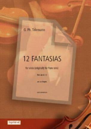 Georg Philipp Telemann - 12 Fantasies - Alto only - Sheet Music - di-arezzo.com