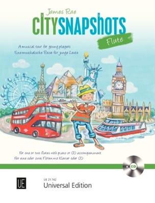 City Snapshots Flute - James Rae - Partition - laflutedepan.com