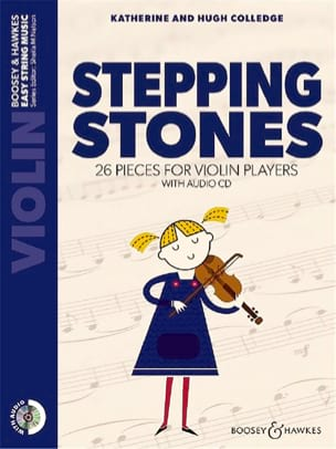 - Stepping Stones - Violon - Partition - di-arezzo.fr