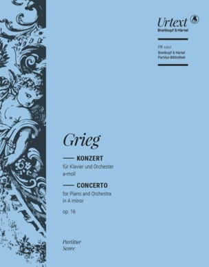 Edvard Grieg - Concerto op. 16 - Partition - di-arezzo.co.uk