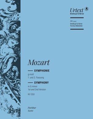Symphonie Kv 550 - Wolfgang Amadeus Mozart - laflutedepan.com