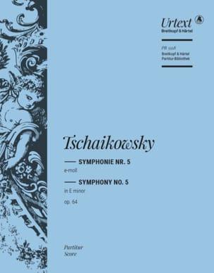 Symphonie n° 5 Piotr Illitch Tchaikovsky Partition laflutedepan