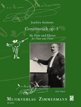 Joachim Andersen - Concertstück, op. 3 - Partition - di-arezzo.fr