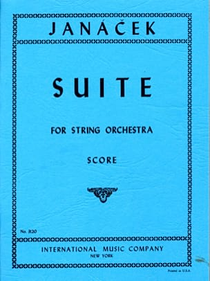 Leos Janacek - Suite for string orchestra - Sheet Music - di-arezzo.com