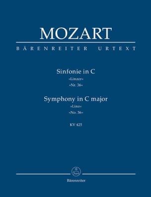 MOZART - Symphony Nr. 36 C-hard Linzer KV 425 - Partitur - Sheet Music - di-arezzo.co.uk