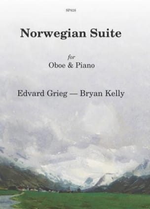 Norwegian Suite GRIEG Partition Hautbois - laflutedepan