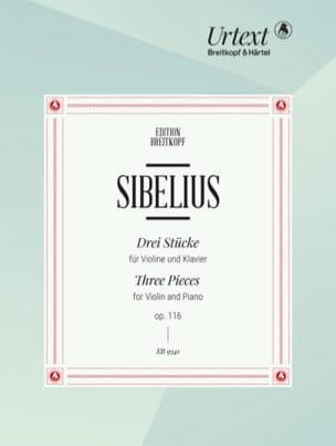 3 Pièces, opus 116 - Jean Sibelius - Partition - laflutedepan.com