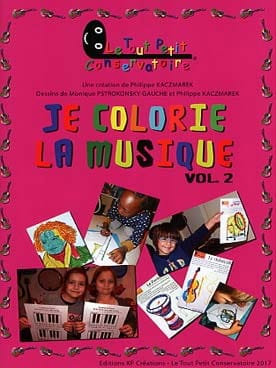 Philippe Kaczmarek - I color the music - Volume 2 - Sheet Music - di-arezzo.co.uk