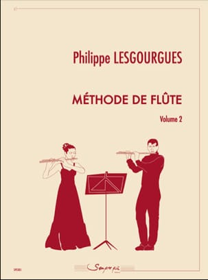 Méthode de Flûte - Volume 2 - Philippe Lesgourgues - laflutedepan.com