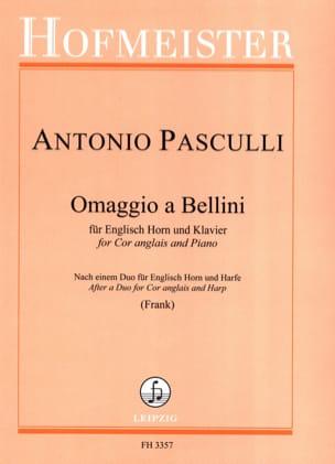 Antonino Pasculli - Omaggio has Bellini - Sheet Music - di-arezzo.co.uk