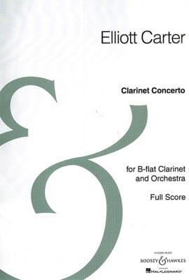 Concerto pour Clarinette - Elliott Carter - laflutedepan.com