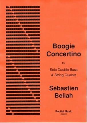 Boogie concertino Sebastien BELIAH Partition Quintettes - laflutedepan