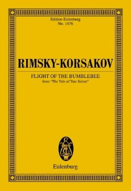 Le Vol du Bourdon - RIMSKY-KORSAKOV - Partition - laflutedepan.com