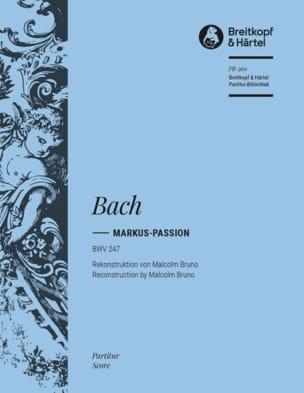 Passion selon St-Marc, BWV 247 Johann Sebastian Bach laflutedepan