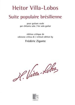 Heitor Villa-Lobos - Suite popolare brasiliana - Partition - di-arezzo.it