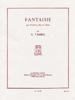 Akira Tamba - Fantaisie - Partition - di-arezzo.fr