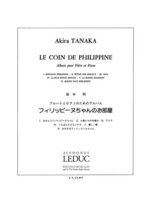 Akira Tanaka - Le Coin de Philippine - Partition - di-arezzo.fr