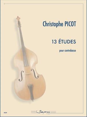 Christophe Picot - 13 Etudes - Partition - di-arezzo.fr