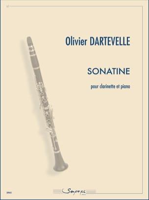 Sonatine - Olivier Dartevelle - Partition - laflutedepan.com