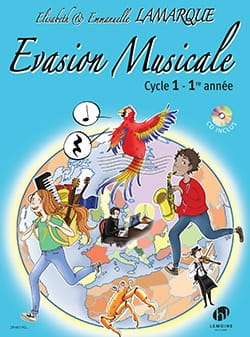 Elisabeth et Emmanuelle LAMARQUE - Musical escape - 1st year - Sheet Music - di-arezzo.co.uk