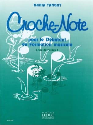 Nadia Tanguy - Croche-Note - Volume 1 - Teachers' Guide - Sheet Music - di-arezzo.co.uk