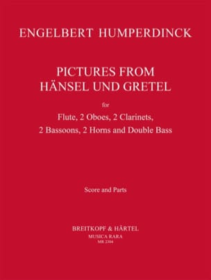 Engelbert Humperdinck - Pictures from Hänsel und Gretel - Sheet Music - di-arezzo.com