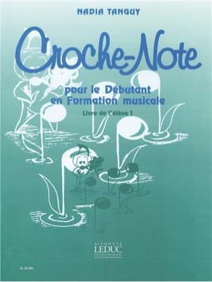 Croche-Note - Volume 2 Nadia Tanguy Partition Solfèges - laflutedepan