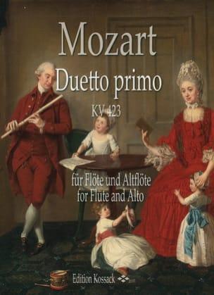 Duetto Primo, KV 423 - MOZART - Partition - laflutedepan.com