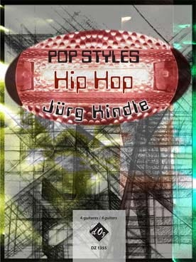 HIP HOP Jürg KINDLE Partition Guitare - laflutedepan