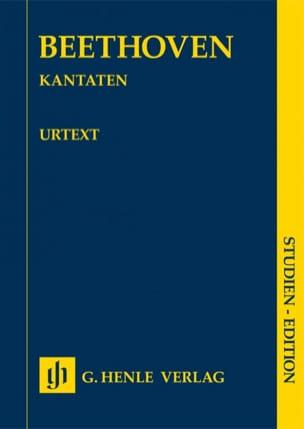 Cantates BEETHOVEN Partition Petit format - laflutedepan